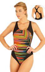 Jednodílné sportovní plavky. 93473 LITEX