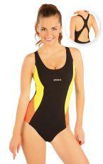 Jednodílné sportovní plavky. 93486 LITEX