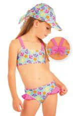 Dievčenské plavky top. 93532 LITEX