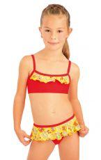Dievčenské plavky top s volánikom. 93568 LITEX