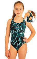Dívčí jednodílné sportovní plavky. 93595 LITEX