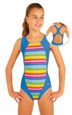 Dívčí jednodílné sportovní plavky. 93597 LITEX