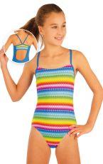 Dívčí jednodílné sportovní plavky. 93598 LITEX