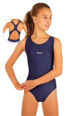 Dívčí jednodílné sportovní plavky. 93599 LITEX