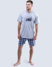 Pánské pyžamo krátké 79050-MxGDCM GINA