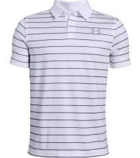 Chlapecké funkční triko Tour Tips Stripe Polo Under Armour