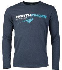 Pánské triko dlouhý rukáv RONTY NORTHFINDER