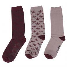 Dámské ponožky 3 páry 3 Pack Formal Socks Ladies FIRETRAP