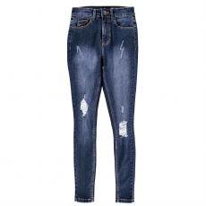 Dámské džíny Ripped Skinny Jeans Ladies FIRETRAP