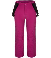Detské softshellové lyžiarske nohavice LONNY LOAP