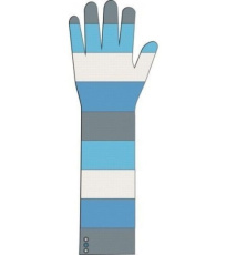 Dámské pletené rukavice Maegan ALPINE PRO