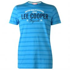 Pánske tričko Stripe Logo Lee Cooper
