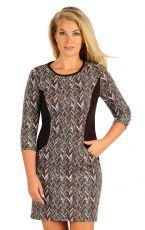 Šaty dámské s 3/4 rukávem. 55024999 LITEX