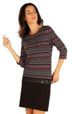 Šaty dámské s 3/4 rukávem. 55039999 LITEX