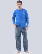Pánske pyžamo dlhé 79061-DBMMxG GINA