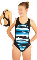 Dívčí jednodílné sportovní plavky. 85659 LITEX