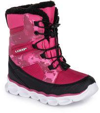 Detské zimné topánky ENIMA LOAP