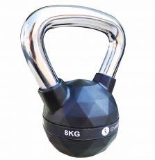 Posilňovacie náradie Kettlebell diamond 8 kg Sveltus