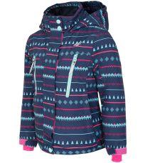 Dievčenské lyžiarska bunda 4F