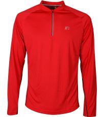 Pánske bežecké tričko so zipsom BASE NEWLINE