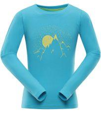 Dětské triko s dlouhým rukávem DIDILO 3 ALPINE PRO