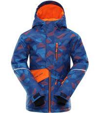 Dětská lyžařská bunda AGOSTO ALPINE PRO