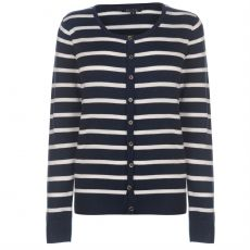 Dámsky sveter Stripe Button Miso