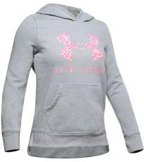 Dívčí mikina Rival Print Fill Logo Hoodie Under Armour