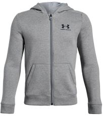 Chlapecká mikina Cotton Fleece Full Zip Under Armour