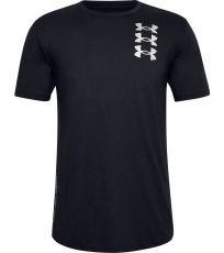 Pánske tričko TRIPLE STACK LOGO SS Under Armour