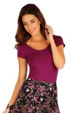 Tričko dámske s krátkym rukávom 60125 LITEX