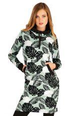 Mikinové šaty s kapucňou 60294 LITEX