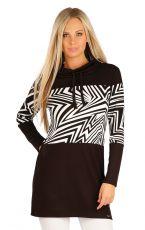 Mikinové šaty s dlhým rukávom 60376 LITEX