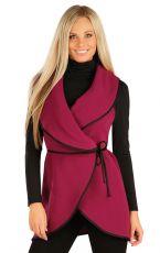 Fleecová vesta dámská dlouhá 60485323 LITEX