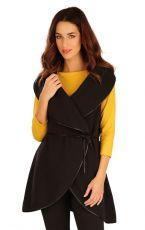 Fleecová vesta dámska dlhá. 60520901 LITEX