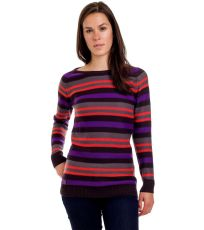 Sveter Stripy Ladies´ Jumper Black WOOX