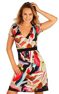Šaty dámske s krátkym rukávom 5B022 LITEX