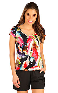 Tričko dámske s krátkym rukávom 5B023 LITEX