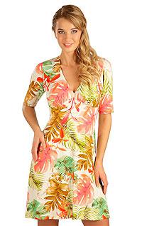 Šaty dámske s krátkym rukávom 5B045 LITEX