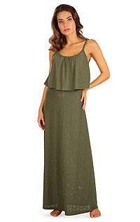 Šaty dámské dlouhé s volánem 5B119620 LITEX