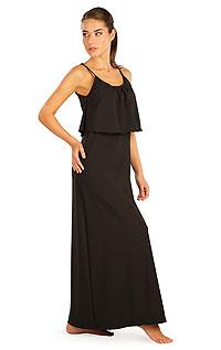 Šaty dámské dlouhé s volánem 5B187901 LITEX