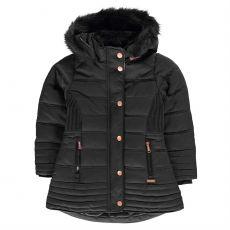 Dievčenská zimná bunda Luxury Bubble Jacket Infant Girls FIRETRAP