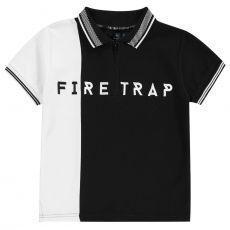 Detská polokošeľa Polo Shirt In03 FIRETRAP