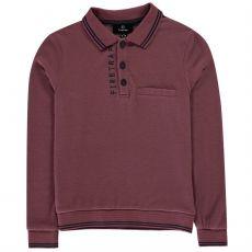 Chlapčenská polokošeľa dlhý rukáv Long Sleeve Polo Shirt Junior Boys FIRETRAP