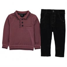 Chlapčenský set 2 Piece Jeans Set Infants Boys FIRETRAP