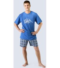Pánské pyžamo krátké 79026-DBMDCM GINA