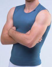 Pánské tričko bez rukávů 88005-DZM GINA