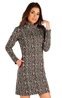 Mikinové šaty s dlouhým rukávem 7A048999 LITEX