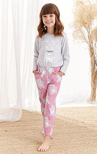 Pyžamo dívčí 7A520999 LITEX