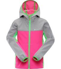 Dětská softshellová bunda NOOTKO 3 ALPINE PRO